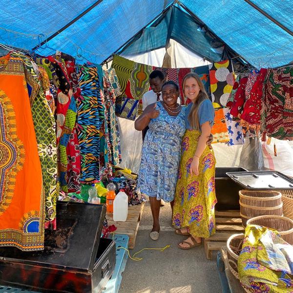 Lusaka Zambia Marketplace