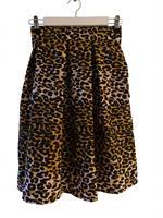 Chitenge skjørt, leopard mønster