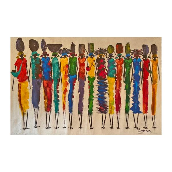 Painting Zambian Women