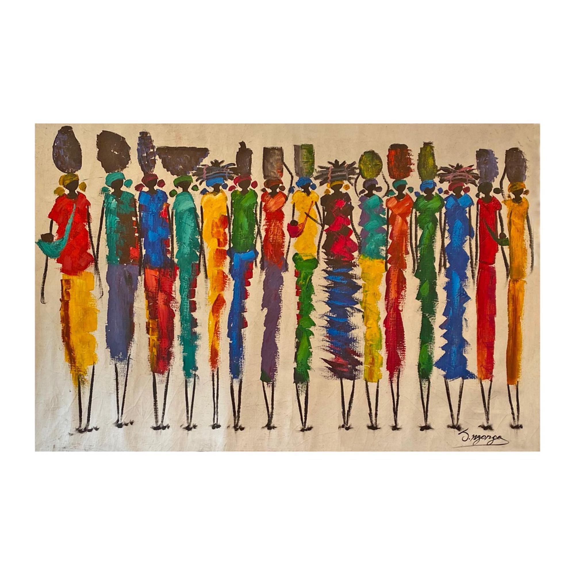 Painting Zambian Women